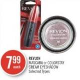 Revlon Mascara or Colorstay Cream Eyeshadow