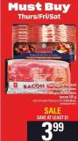 PC Naturally Smoked Bacon - 375-500 G Or Schneiders Bacon - 375 G