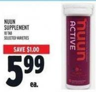Nuun Supplement
