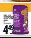 Silver Hills Bakery Sprouted Organic Ancient Grains