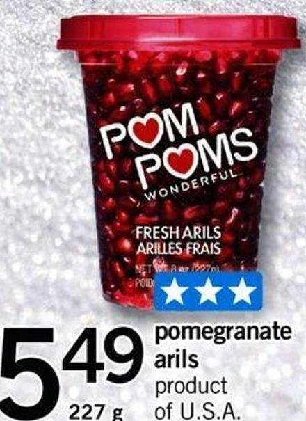 Pomegranate Arils - 227 G