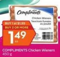 Compliments Chicken Wieners