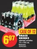 Grace Drinks - 12 X 355 mL