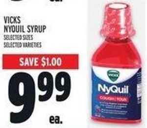 Vicks Nyquil Syrup