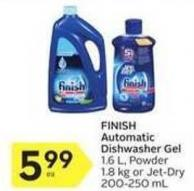 Finish Automatic Dishwasher Gel