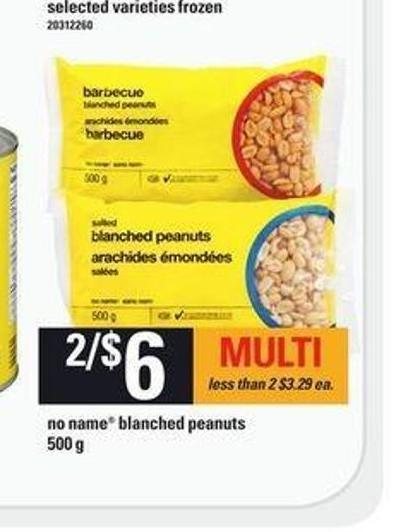 No Name Blanched Peanuts - 500 G