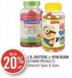 L'il Critters or Vitafusion Vitamin Products