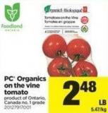 PC Organics On The Vine Tomato