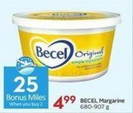 Becel Margarine 680-907 g - 25 Air Miles
