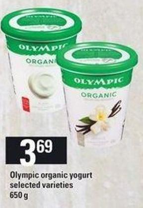 Olympic Organic Yogurt