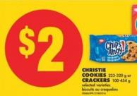 Christie Cookies - 223-320 g or Crackers - 100-454 g