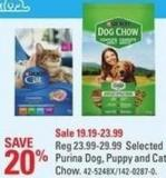 Purina Dog - Puppy and Cat Chow