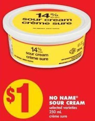 No Name Sour Cream - 250 mL