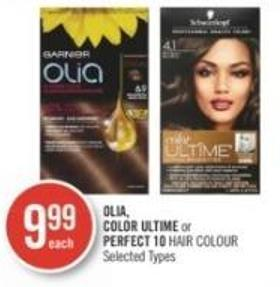 Olia - Color Ultime or Perfect 10 Hair Colour