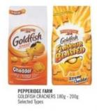 Pepperidge Farm Goldfish Crackers 180g - 200g