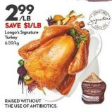 Longo's Signature  Turkey