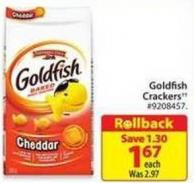 Goldfish Crackers