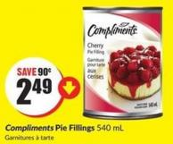 Compliments Pie Fillings 540 mL