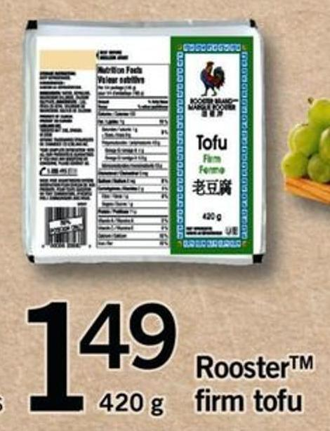 Rooster Firm Tofu
