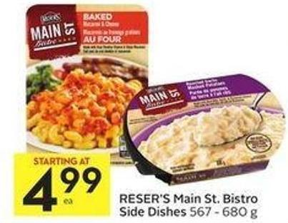 Reser's Main St. Bistro Side Dishes