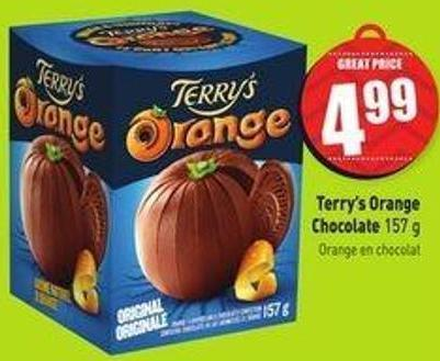Terry's Orange Chocolate 157 g