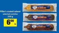 Piller's Coated Salami - 250 G