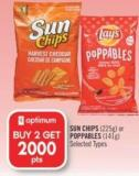 Sun Chips (225g) or Poppables (141g)
