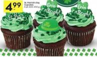 St. Patrick's Day Cupcakes 6 Pk 400-450 g