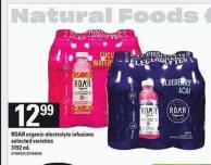 Roar Organic Electrolyte Infusions - 3192 mL