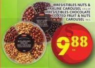 Irresistibles Nuts & Praline Carousel Or Irresistibles Chocolate Coated Fruit & Nuts Carousel