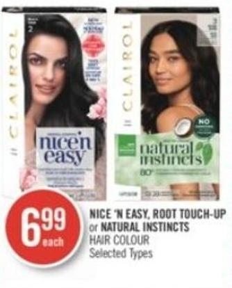 Nice 'N Easy - Root Touch-up or Natural Instincts Hair Colour