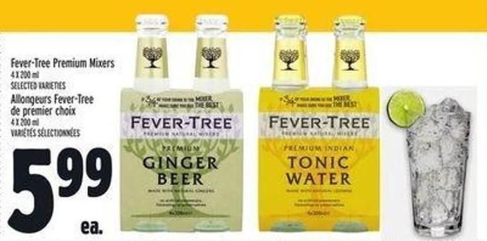 Fever-tree Premium Mixers
