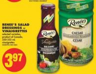 Renee's Salad Dressings or Vinaigrettes - 350-355 mL