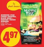Morning Star Farms Chickpea - Black Bean or Harvest Veggie Burgers - 268 g