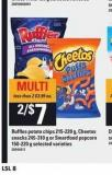 Ruffles Potato Chips 215-220 G - Cheetos Snacks 245-310 G Or Smartfood Popcorn 150-220 G