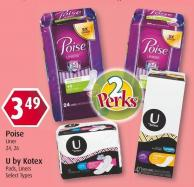 U By Kotex Pads - Liners