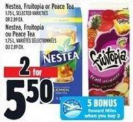 Nestea - Fruitopia Or Peace Tea 1.75 L