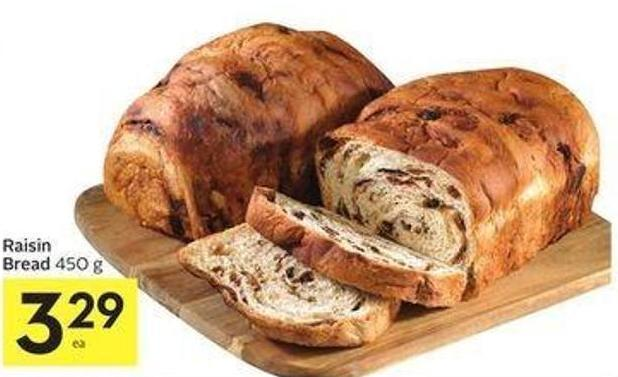 Raisin Bread 450 g