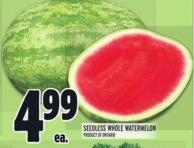 Seedless Whole Watermelon
