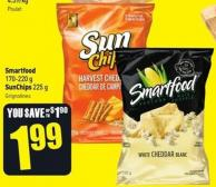 Smartfood 170-220 g Sunchips 225 g