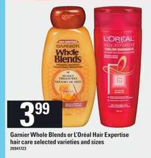 Garnier Whole Blends Or L'oréal Hair Expertise Hair Care