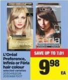 L'oréal Preference - Infinia Or Féria Hair Colour