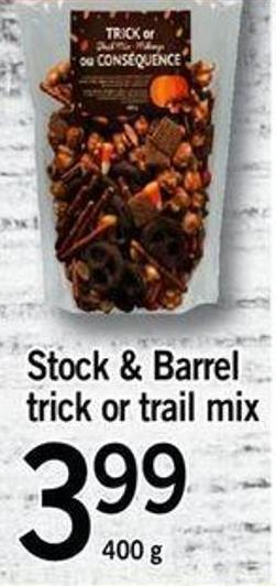 Stock & Barrel Trick Or Trail Mix