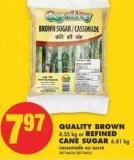 Quality Brown - 4.55 Kg Or Refined Cane Sugar - 6.81 Kg