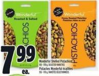 Wonderful Shelled Pistachios 155 - 170 g