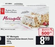 PC Meringata Traditional Italian Dessert - 400 G