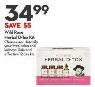 Wild Rose Herbal D-tox Kit