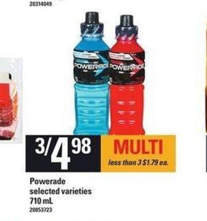 Powerade - 710 Ml