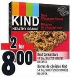 Kind Cereal Bars