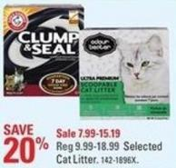 Arm & Hammer Selected Cat Litter